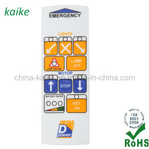 Bi-Color Membrane Switch Keypad pictures & photos