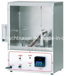 Textile 45 Degree Combustion Tester of Standard Ca Tb117