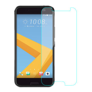 2.5D 0.33mm 9h Clear Tempered Glass Screen Guard for HTC 10