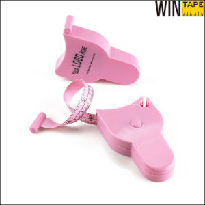 1.5 Meters Mini Pink Besopke Waist Cloth Retractable Tape Measure pictures & photos