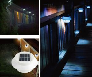 LED Solar Fence Gutter Lamp Garden Yard Wall Pathway Light pictures & photos