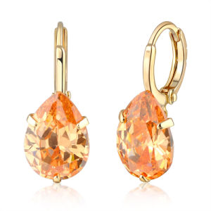 China Fashion Jewelry Designs Christmas Gift Zircon Earring Jewelry For Girls China Cubic Zirconia Jewelry And Women Earrings Price