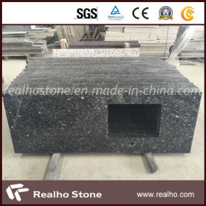 Emerald Pearl Prefab Granite Countertop for Bathroom/Kitchen