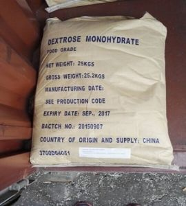 Factory Supply Food Grade/USP Grade Dextrose Monohydrate pictures & photos