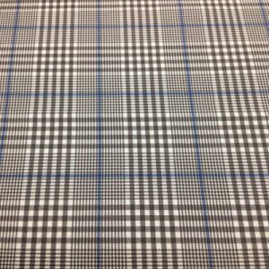Yarn Dyed Poly Rayon Stretch Plaid Fabric for Women′s Wear
