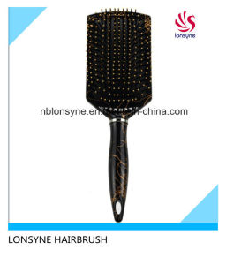 Hot Sale Plastic Hair Brush with Cushion