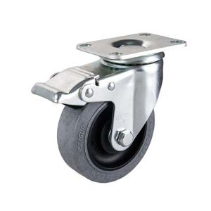 5inches Middle Duty Swivel Conductive Caster with Total Brake