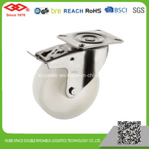 Stainless Steel Caster Wheel with Brake (G104-20D080X35S) pictures & photos