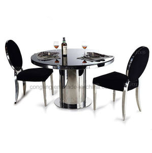 Luxury Design Rotate Marble Round Dining Table For Sale A8079