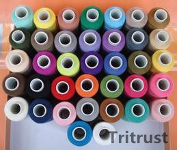 100% Spun Polyester Sewing Thread for Stitching (42s/2) pictures & photos