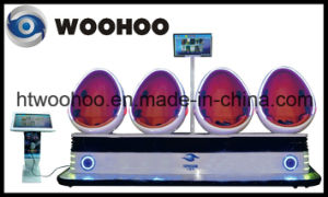 Indoor Playground 9d Egg Shell Vr Cinema Equipment 4 Players