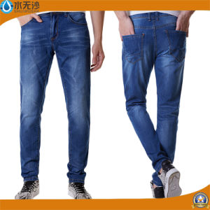 New Classic Men Stylish Pants Straight Slim Fit Denim Jeans pictures & photos