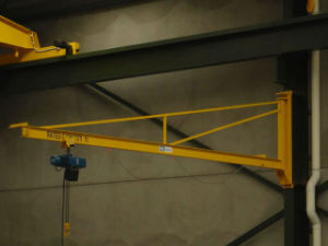 Manual Rotated Wall Crane Colume Mounted Jib Crane Gantry Crane pictures & photos