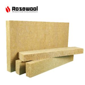 China thermal insulation rock wool panel mineral wool for Mineral wool board insulation price