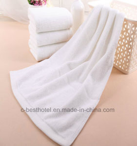 Hotel Towel, 100% Cotton 16s/1, 21s/2, 32s/1, Plain, Jacquard, Dobby Border, Embroidery pictures & photos