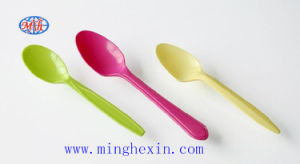 Color Plastic Spoon with ISO SGS