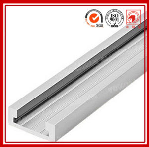 6000 Series T4-T6 Extruded Aluminum U Channel pictures & photos
