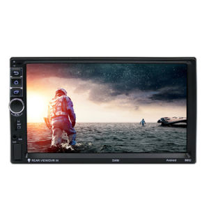 """Android8.1 Car Stereo GPS Navigation Radio Player Double 2Din WIFI 7/"""" Inch Touch"""