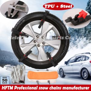 Ice Chains Manufacturer Ce Certificated Snow Chains pictures & photos