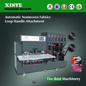Non Woven Fabrics Handle Attachment Making Machine pictures & photos