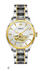 High Quality Automatic Jewellery Skeleton Men′s Wrist Watch pictures & photos