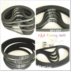 Rubber Timing Belt Synchronous Belts Auto Timing Belt S4.5m-617 630 653 675 711 pictures & photos