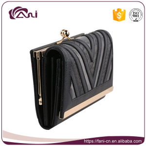 Latest Fashion Human Leather Wallet for Women Personalized pictures & photos