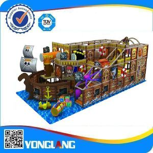 Wood Indoor Playground Ship for Kids pictures & photos