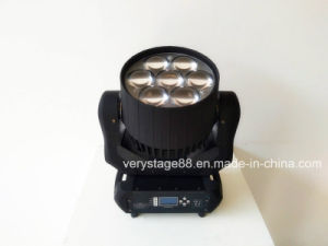 7*40W RGBW 4in1 LED Zoom Beam Wash Moving Head pictures & photos