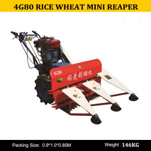 Farm Walking Tractor Reaper 4G80, Small Tractor Havester, Small Rice Reaper 4G80 pictures & photos