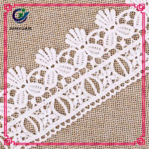 Embroidered Technics Polyester Material Water Soluble Lace pictures & photos