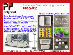 Automatic Forming Machine for Plastic Buscuit Tray Lid Box Plate pictures & photos