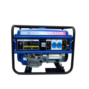 5kw 5kVA Engine Portable Gasoline Generator for Honda with Ce