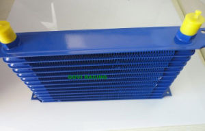 13 Row Blue An10 Transmission Cooler Racing Oil Cooler radiator pictures & photos