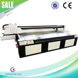 UV Flatbed Printer for Leather Plastic Wood
