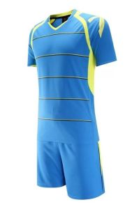 fashion Blue Soccer Jersey with Short pictures & photos