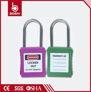 4mm Shackle Diameter Stainless Steel Thin Shackle Safety Padlock (BD-G71) pictures & photos