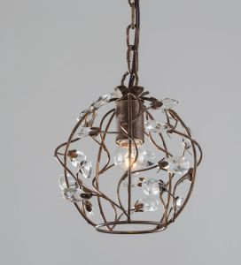Wrought Iron Attractive Mini Pendant Light /Single Pendant Light