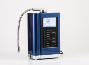 Alkaline Water Ionizer Five Pieces Titanium with Platinum Coating Plates Without Heating Function pictures & photos
