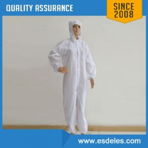 ESD Antistatic Lab Coverall for Use in Cleanroom