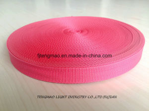 "1"" Red PP Webbing for School Bags"