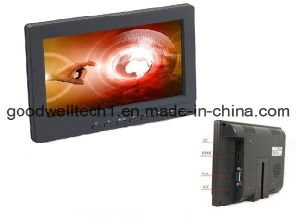 High Brightness 400CD/M2 7 Inch Touch Monitor with HDMI, VGA Input pictures & photos