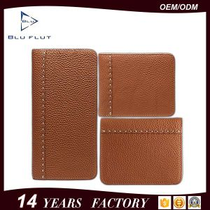 Wallet Factory Supply Handmade Genuine Leather Card Holder Men Collection Wallet pictures & photos