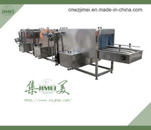 Hot Selling Plastic Crates Washer for Various Types Containers
