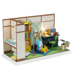Japan Style Mini House Model with Carton Toy pictures & photos