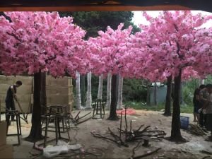Hot Selling Pink Wedding Decorative Artificial Cherry Blossom/Sakuratree pictures & photos