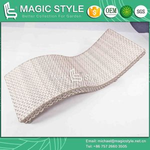 S Wicker Lounge Rattan Lounge Outdoor Sunlounger (Magic Style) pictures & photos