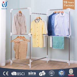 Single-Pole Double-Pole Screen-Type Hanging Clother Rack Drying Hanger pictures & photos