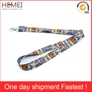 Wholesale Cheap Promotion Printed Neck Lanyard