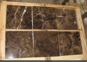 Brown Marble Tile Dark Emperador Marble pictures & photos